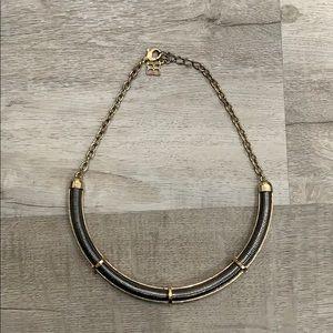 Reversible Gold/Gunmetal Necklace